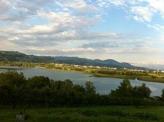 Wonderful view and a cool party / Super Aussicht und eine coole Party