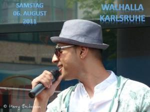 Mehrzad Marashi bei der Atro Party in Karlsruhe