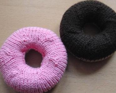 Backrezept Strick -Donuts und  Babyring