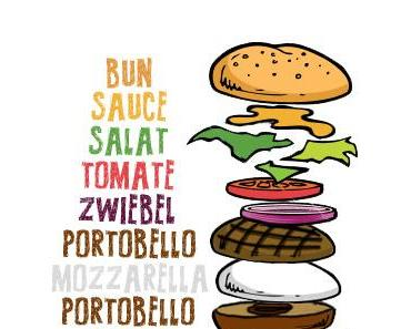 Grilled Portobello-Burger