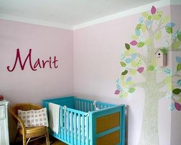 Frau Schaubüdchen präsentiert ihr erstes Kinderzimmer....