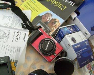 Meine neue Kamera +  Laptop
