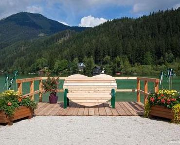 Steiermark Bankerl am schönsten Ausflugsziel dem Erlaufsee