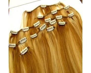 Haarverlaengerung mit Clip Extensions – die Innovation