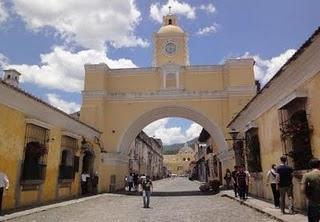 Antigua Guatemala und Maya Pedal