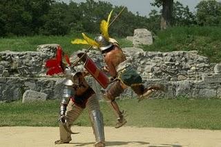 Römertage in Eining: Legionäre und Gladiatoren zum Anfassen