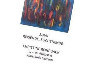 Ausstellungstipp: Christine Rohrbach im Kunstkreis Laatzen b. Hannover, Aug. 2011