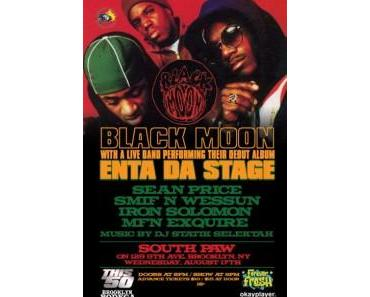 """Black Moon with live band performing their debut album """"Enta Da Stage"""" [Video]"""