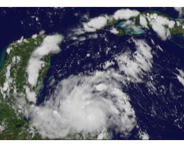 Tropischer Sturm HARVEY aktuell: Warnstufen in Honduras, Guatemala, Belize und Südost-Yucatán aktiviert