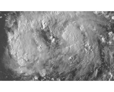 Tropischer Sturm IRENE bedroht Kleine Antillen, Puerto Rico, Hispaniola (pot. Hurrikan), Kuba und Florida