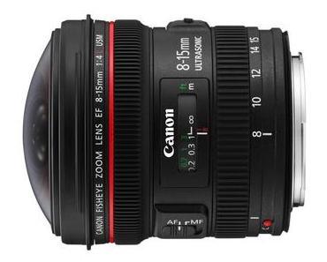 Canon Fisheye-Zoom 8-15 mm vorgestellt