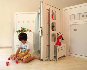 Mehr Raum für Kinder – ein Spielhaus aus Karton