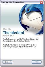 Thunderbird 3.1.3