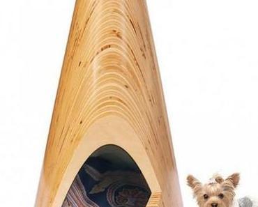 Fette Hütte für kleine Hunde