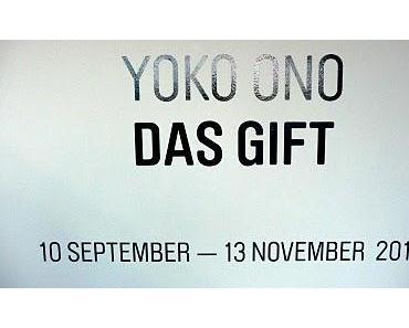 In the line of fire: Yoko Ono's Ausstellung DAS GIFT