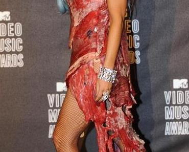 Lady Gaga zeigt Fleisch
