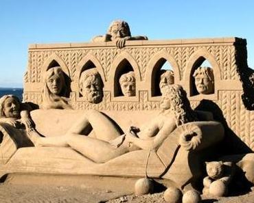 Sandskulpturen Festival in Rorschach