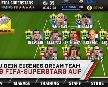 FIFA Superstars: Manage dein eigenes Fussballteam