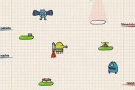 """Doodle Jump for iPad"" bringt Erfolgstitel endlich auch auf das iPad"