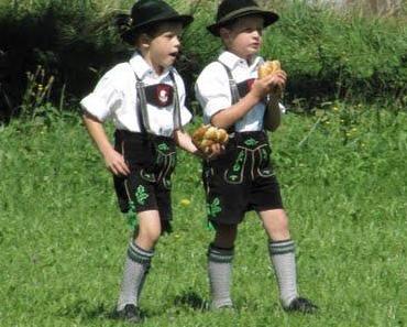 In Seeg spielt die Musik: 53. Allgäuer Alphornbläsertreffen am Sonntag, 28.08.2011