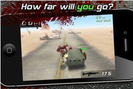 """Zombies überfahren: """"Zombie Highway"""" derzeit kostenlos"""