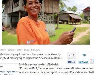 High-Tech gegen Malaria.