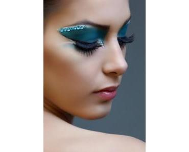Extravagantes Augen Make-up
