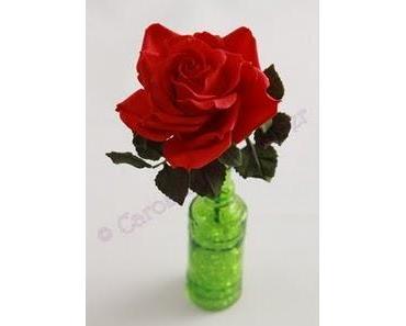 Anleitung für eine klassische, rote Rose