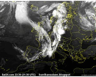 Hurrikan KATIA, Europa, Deutschland, die Wortwahl und ein Fakt