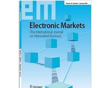 Electronic Markets wurde in den  Social Science Citation Index (SSCI) aufgenommen