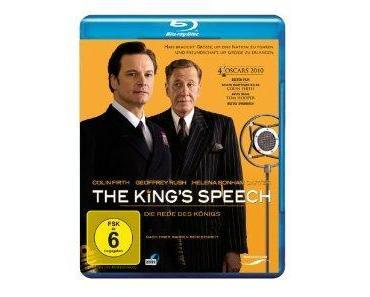 The King's Speech Bluray