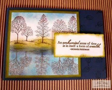 "Spiegeltechnik mit ""Lovely as a tree"""