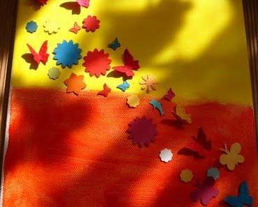 Rückblick 2 Kinderworkshop Thema: Keilrahmen