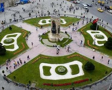 Der Taksim Platz und die Grenzen der Stadt