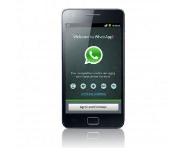 Die App zum Sonntag: WhatsApp! – Tschööö SMS