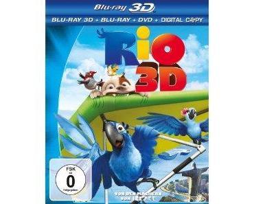 Rio 3D Bluray