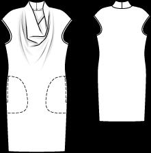 Jerseykleid Burda NR.116 - 8/2011
