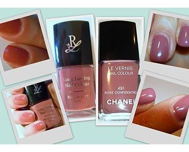 """Ein Dupe? Chanel #491 """"Rose Confidentiel"""" vs. Rival de Loop #18?!?"""