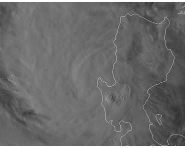 Taifun NALGAE verlässt die Philippinen - Neue Zugrichtung: Südlich an Hainan vorbei nach Zentral-Vietnam