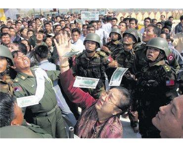 Burmas Waffenlieferanten sind zugleich ständige Mitglieder des UN-Sicherheitsrates
