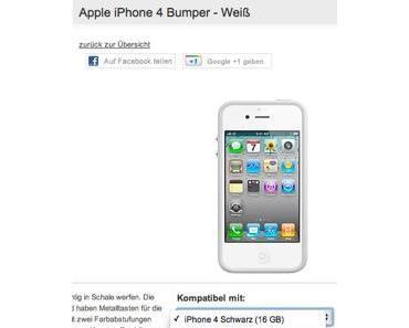 iPhone 4S taucht im Vodafone Zubehörshop auf