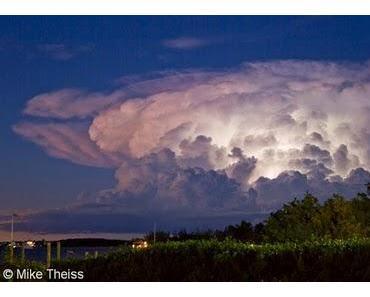 Wunderschönes Gewitterfoto Key Largo, Florida Keys, Florida