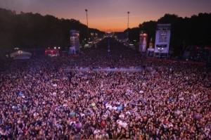 750.000 beim Coke Sound Up Festival