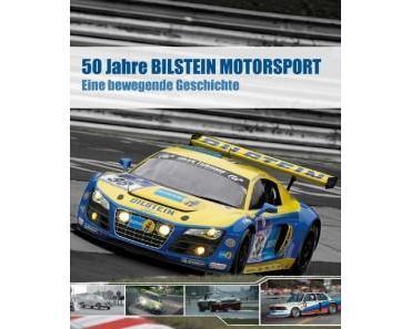 Eine Buchvorstellung von 50 Jahre Motorsport mit Bilstein