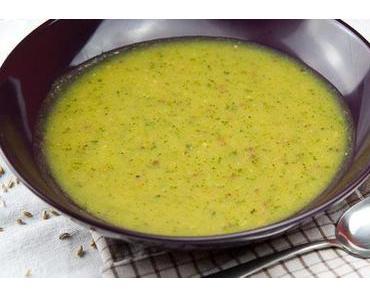 Orientalische Zucchini Suppe