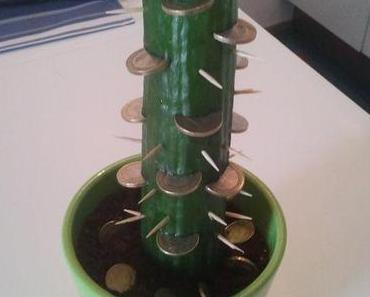 Heute hab ich einen Geldkaktus gepflanzt