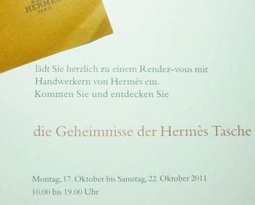 Hermès Event: Wie entsteht eine Tasche von Hermès?