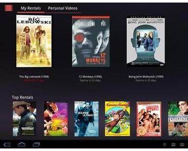 Android Movies bringt Filme auf Tablets.