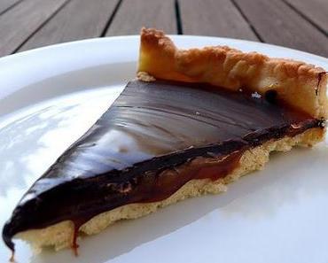 Karamell-Schokoladen-Tarte