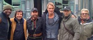 'The Expendables 2′ mit Arnold Schwarzenegger, Chuck Norris und Jean-Claude Van Damme